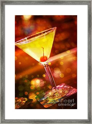 Sweet Martini  Framed Print