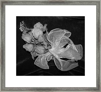 Framed Print featuring the photograph Sweet Memory by Beth Vincent