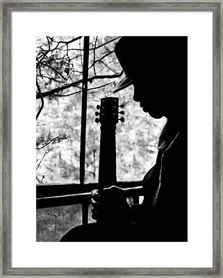 Sweet Music Man Framed Print by EG Kight