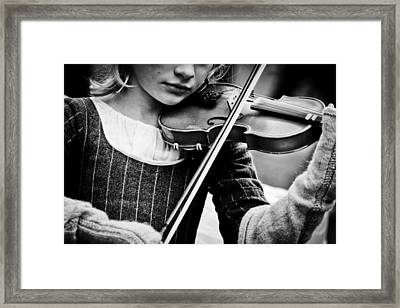 Sweet Music Framed Print by Off The Beaten Path Photography - Andrew Alexander