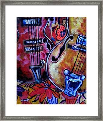 Sweet Music Framed Print