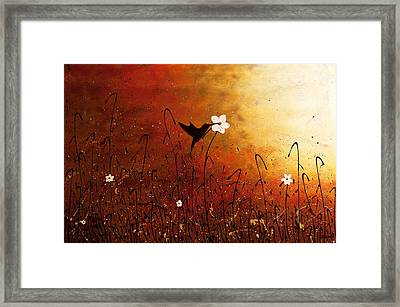 Sweet Nectar Framed Print by Carmen Guedez