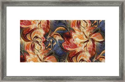 Sweet Nectar Framed Print by Kim Redd