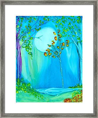 Sweet Night Framed Print
