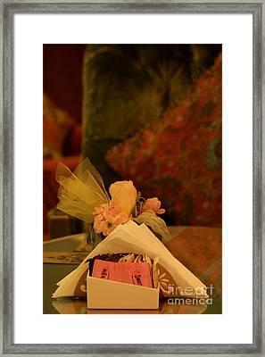 Sweet Nothings Framed Print by Vishakha Bhagat