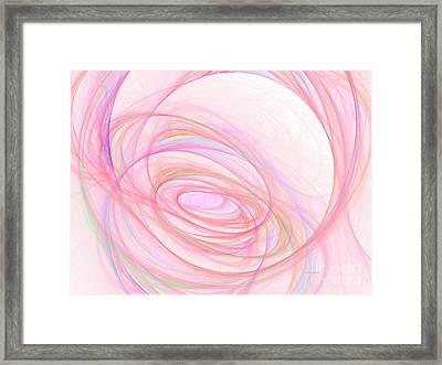 Sweet Pink  Framed Print