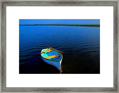 My Sweet Row Boat Framed Print by Laura Ragland
