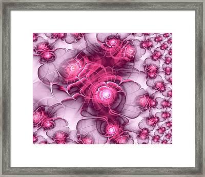 Sweet Sakura Framed Print by Anastasiya Malakhova