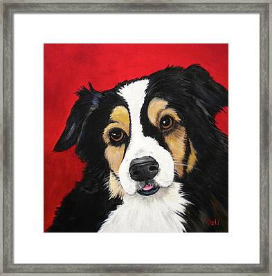 Sweet Scout Framed Print