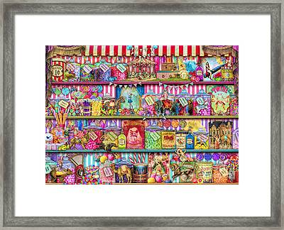 Sweet Shoppe Framed Print by Aimee Stewart