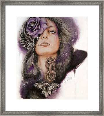 Sweet Sorrow Framed Print by Sheena Pike