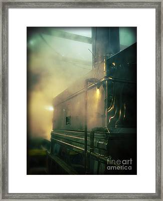 Sweet Steam Framed Print by Edward Fielding