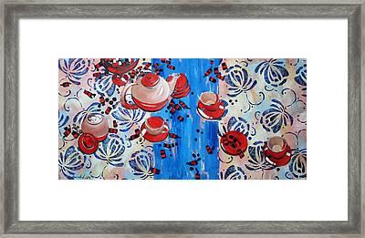 Sweet -stuff Framed Print by Anastasija Kraineva