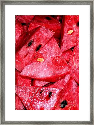 Sweet Summer Framed Print by James Temple