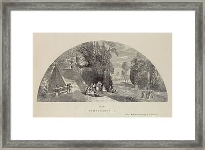 Sweet Summer-time Framed Print by British Library