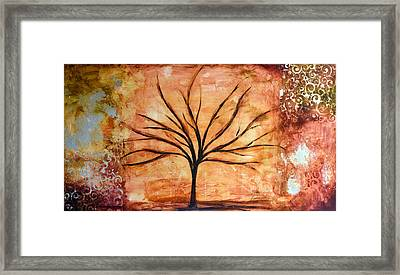 Sweet Sunset Framed Print