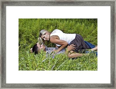 Sweet Surrender Framed Print by Don Ewing