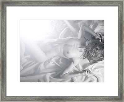 Sweet Suurender Framed Print by Blue Muse Fine Art
