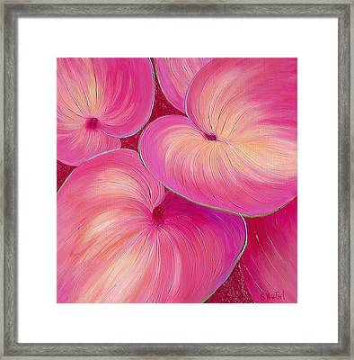 Sweet Tarts II Framed Print by Sandi Whetzel