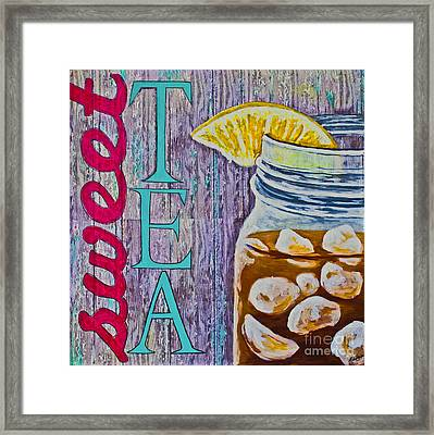Sweet Tea Framed Print