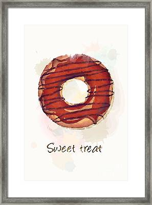 Sweet Treat.jpg Framed Print by Jane Rix