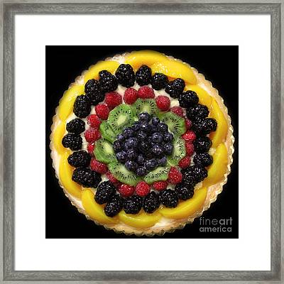 Sweet Treats - Fruit Cake - 5d20920 - Square Framed Print by Wingsdomain Art and Photography