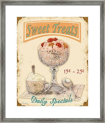 Sweet Treats Framed Print by Jean Plout