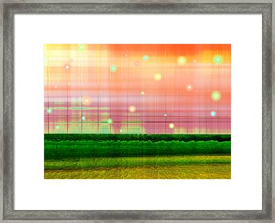Sweet Tuesday Morning Framed Print by Wendy J St Christopher