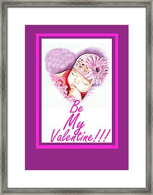 Sweet Valentine  Framed Print