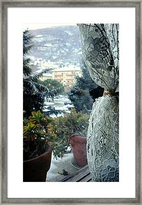 Sweet Warm Home Framed Print by Giuseppe Epifani