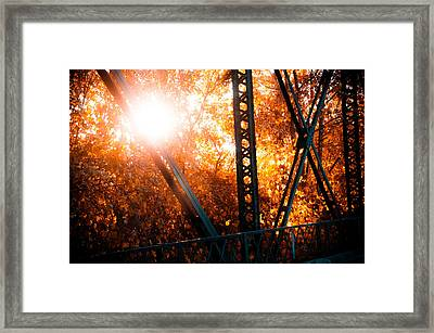 Sweet Water Creek Framed Print