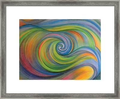 Sweet Waves Framed Print