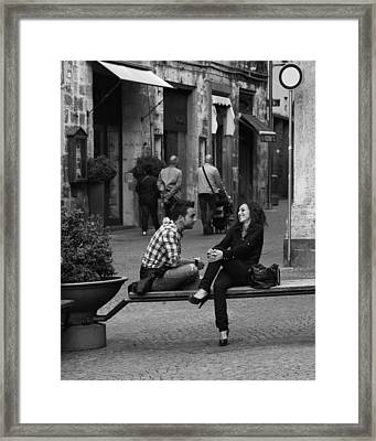 Sweet Youth Framed Print