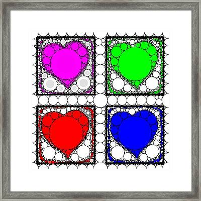 Sweetheart Framed Print by Cindy Edwards