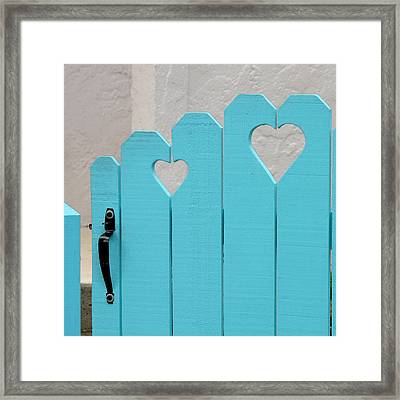 Sweetheart Gate Framed Print by Art Block Collections