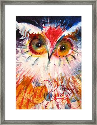 Sweetheart Hooter Framed Print