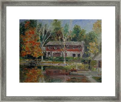 Sweetheart Lake Fall Framed Print