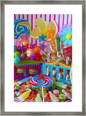 Sweets 3 Framed Print by Aimee Stewart