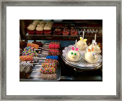 Sweets For The Sweet Framed Print