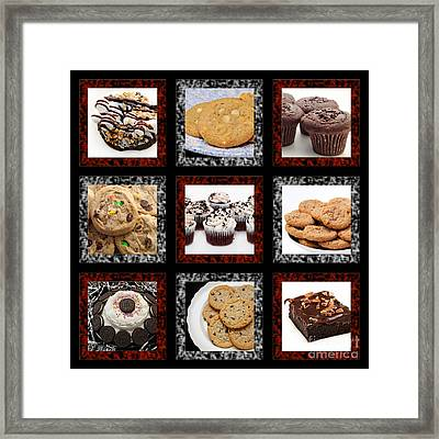 Sweets For The Sweet Tic Tac Toe 2 Framed Print