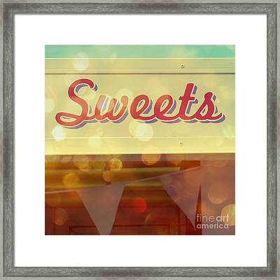 Sweets Framed Print
