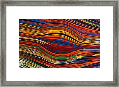 Swell Framed Print by Kristin Elmquist