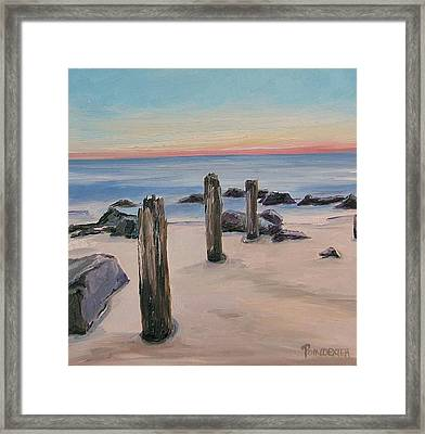 Swept Away Framed Print by Dianna Poindexter