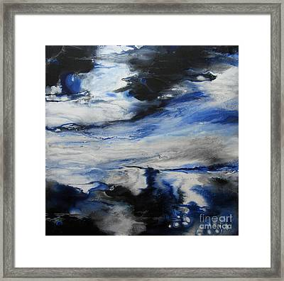 Swept Away I Framed Print