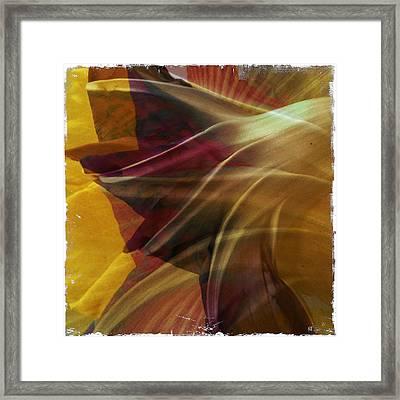 Swept Framed Print by Dorian Hill
