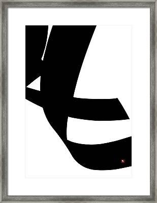 Swift Framed Print by Edward Jensen