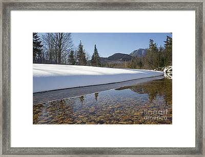 Swift River - Albany New Hampshire Usa Framed Print