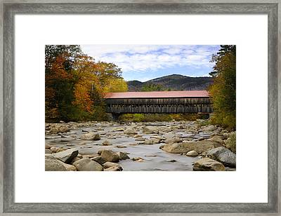 Swift River Vista Framed Print