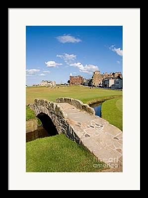 Golfcourse Framed Prints