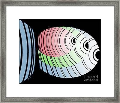 Swim Swim Swim Framed Print by Christine Fournier